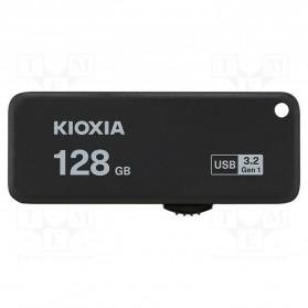 Flashdisk USB Storage - Kioxia TransMemory U365 Flash Drive Flashdisk USB 3.2 128GB - LU365K128GG4 - Black