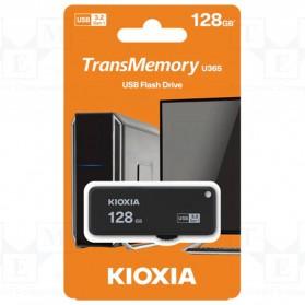 Kioxia TransMemory U365 Flash Drive Flashdisk USB 3.2 128GB - LU365K128GG4 - Black - 3