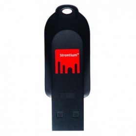 Strontium Pollex USB Flash Drive 2GB - SR2GRDPOLLEX - Black/Red