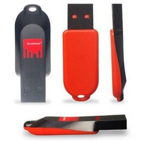 Strontium Pollex USB Flash Drive 2GB - SR2GRDPOLLEX - Black/Red - 3