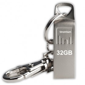 Storage Komputer PC / Laptop - Strontium Ammo USB Flash Drive 32GB - SR32G-AMMO - Silver