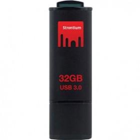 Strontium JET USB Flash Drive USB 3.0 32GB - SR32GBBJET - Black