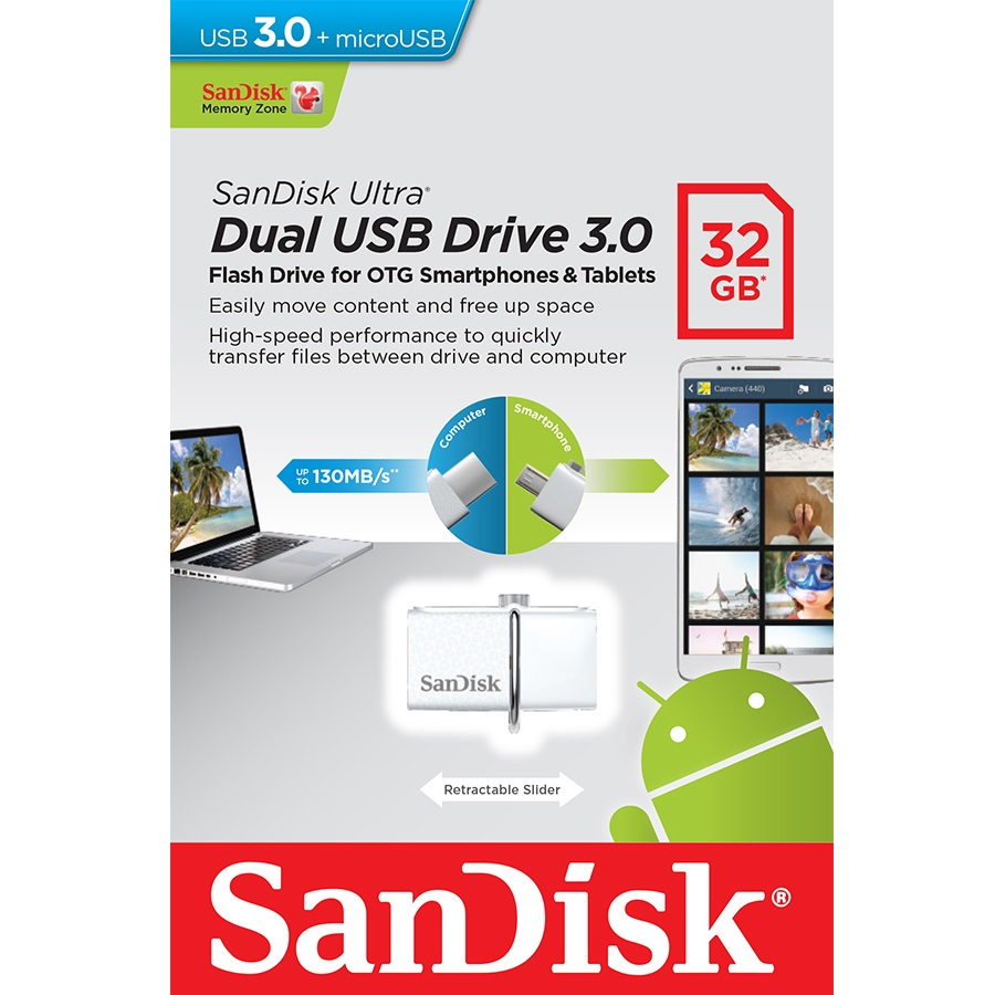 USB Flash Drive 128Gb - A-Data DashDrive Elite UE700 USB 3.0 AUE700-128G-CBK