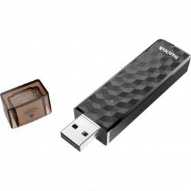 SanDisk Connect Wireless Stick Flashdisk 128GB - SDWS4-128G - Black - 4