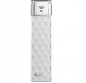 SanDisk Connect Wireless Stick 200GB - SDWS4-200G - White - 2