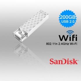 SanDisk Connect Wireless Stick 200GB - SDWS4-200G - White - 7