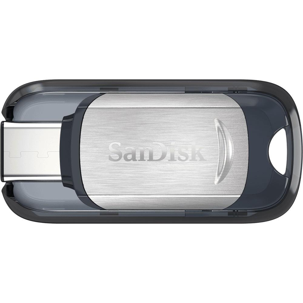 Sandisk Ultra Usb 31 Type C Flash Drive Silver 64gb Sdcz450 064g Flashdisk Toshiba Disk