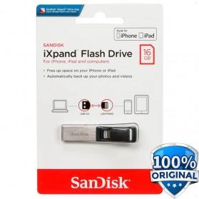Sandisk iXpand Flashdisk Lightning USB 3.0 16GB - SDIX30N-016G