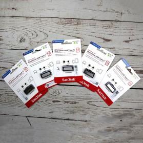 SanDisk Ultra Dual USB Drive Type-C 128GB - SDDDC2-128G - Black - 3