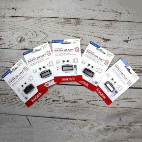 SanDisk Ultra Dual USB Drive Type-C 64GB - SDDDC2-064G - Black - 3
