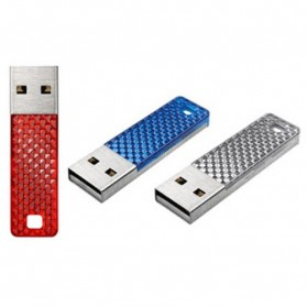 Sandisk Cruzer Facet USB Flash Drive SDCZ55-016G - 16GB (Bulk Packing) - Blue - 4