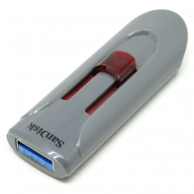 Sandisk Cruzer Glide USB 3.0 Flash Drive SDCZ600-016G - 16GB (Bulk Packing) - Gray/Red - 3