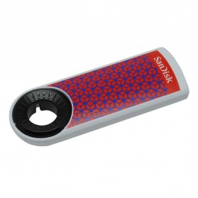 Sandisk Cruzer Dial USB Flashdisk 32GB - SDCZ57-032G (Bulk Packing) - White - 2