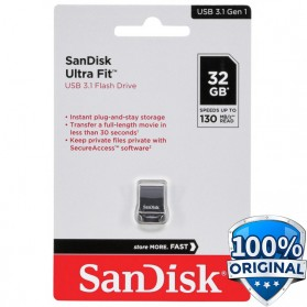 Sandisk Ultra Fit USB 3.1 Flashdisk 32GB - SDCZ430 - Black