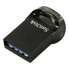 Sandisk Ultra Fit USB 3.1 Flashdisk 128GB - SDCZ430 - Black - 2