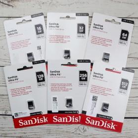 Sandisk Ultra Fit USB 3.1 Flashdisk 256GB - SDCZ430 - Black - 3