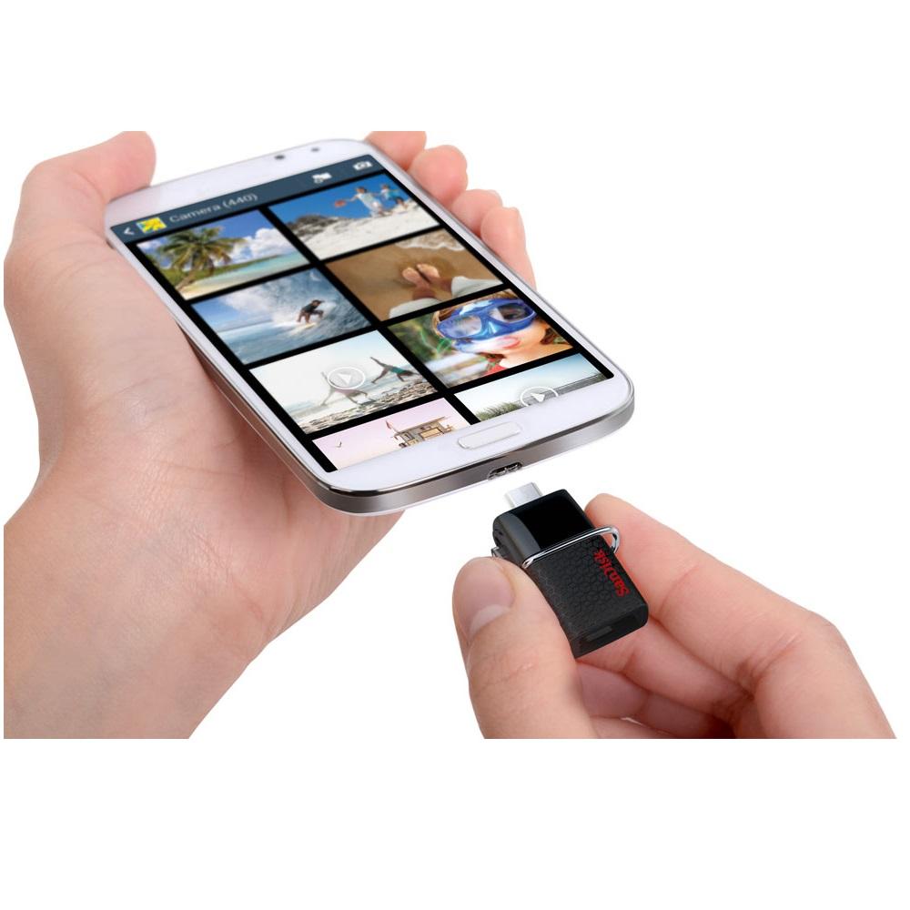 Sandisk Ultra Dual OTG USB Flash Drive USB 3.0 16GB - SDDD2-016G (Bulk ...