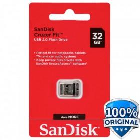 SanDisk Cruzer Fit USB Flash Drive 32GB - SDCZ33-032G-G35