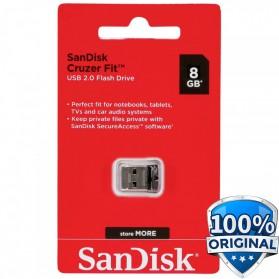 SanDisk Cruzer Fit USB Flash Drive 8GB - SDCZ33-008G-G35