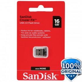 SanDisk Cruzer Fit USB Flash Drive 16GB - SDCZ33-016G-G35