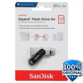 Sandisk iXpand Flashdisk Go Lightning USB 3.0 128GB - SDIX60N-128G