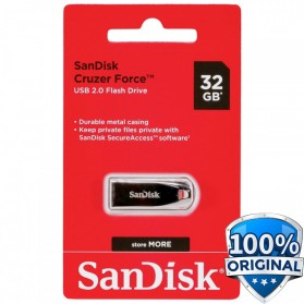 Sandisk Cruzer Force USB Flash Drive SDCZ71-032G - 32GB - Black