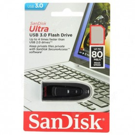 Sandisk Ultra USB 3.0 Flash Drive SDCZ48-512G - 512GB - Black