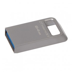 Kingston DataTraveler Micro 3.1 USB DTMC3/64GB - 64GB - Silver
