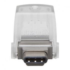 Kingston DataTraveler microDuo 3C USB Type-C & USB 3.1 - 32GB - Silver - 3