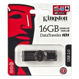 Kingston DataTraveler DT101G2/16G - 16GB - 3