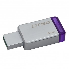 Kingston DataTraveler 50 USB 3.1 8GB - DT50/8GBFR - Purple