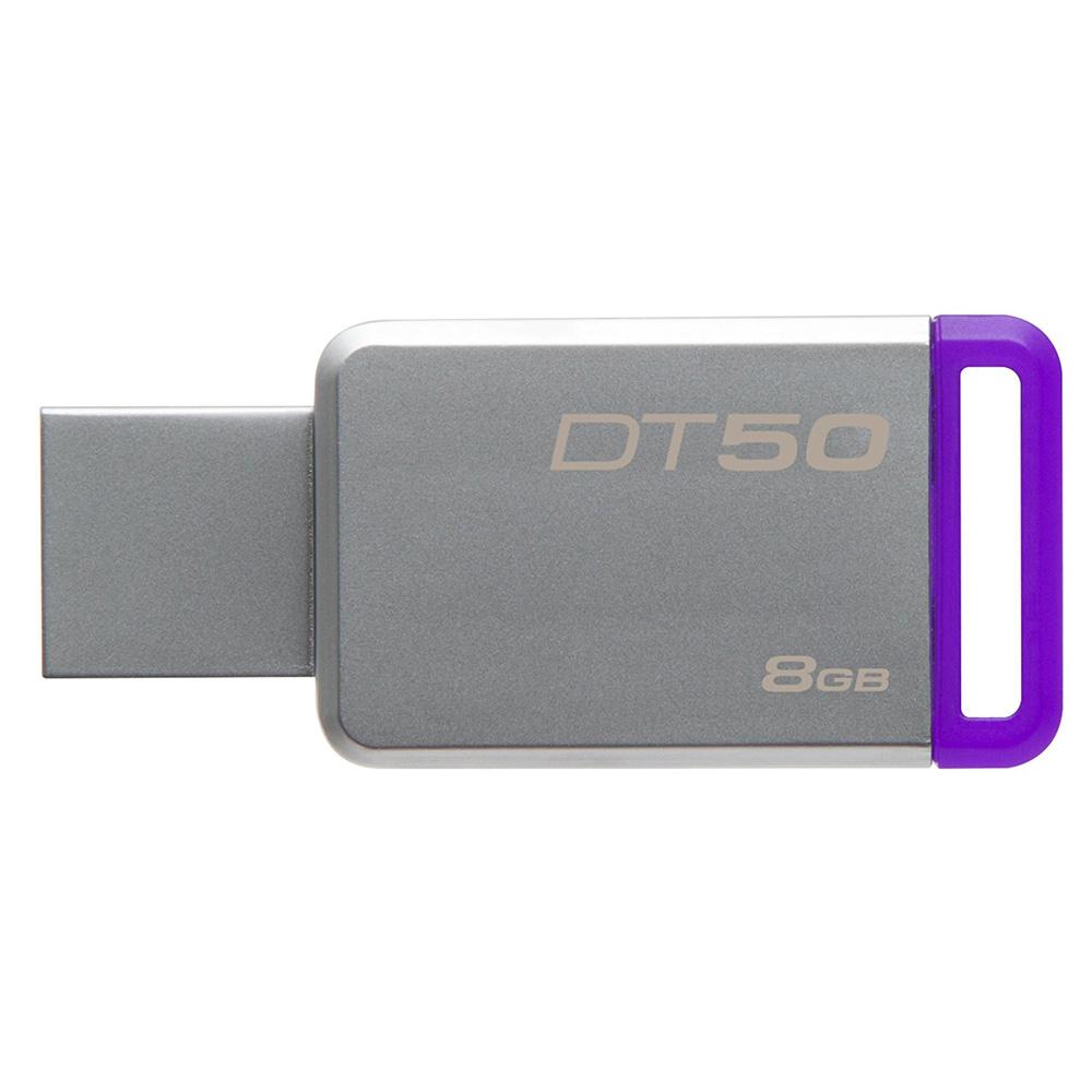 Kingston Datatraveler 50 Usb 31 8gb Dt50 8gbfr Purple Flashdisk Hp 2