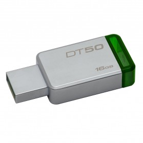 Storage Komputer PC / Laptop - Kingston DataTraveler 50 USB 3.1 16GB - DT50/16GBFR - Green