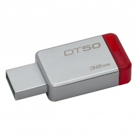 Kingston DataTraveler 50 USB 3.1 32GB - DT50/32GBFR - Red