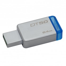Kingston DataTraveler 50 USB 3.1 64GB - DT50/64GBFR - Blue