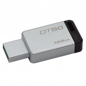 Kingston USB DataTraveler 50 USB 3.1 128GB - DT50/128GBFR - Black