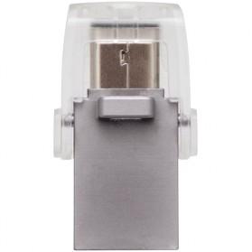 Kingston DataTraveler microDuo 3C USB Type-C & USB 3.1 - 64GB - Silver - 4
