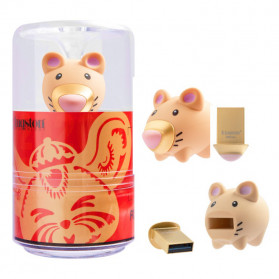 Kingston Chinese New Year Rat Limited Edition Flashdisk USB 3.1 32GB - DTCNY20 - Golden