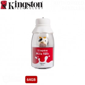 Kingston Milk 100% Chinese New Year Cow Limited Edition Flashdisk USB 3.2 64GB - DTCNY21 - White - 2
