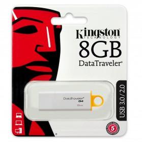 Kingston DataTraveler Generation 4 (DTIG4) - 8GB - Yellow - 4