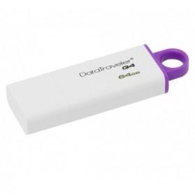 Flashdisk USB Storage - Kingston DataTraveler Generation 4 (DTIG4) - 64GB - Purple