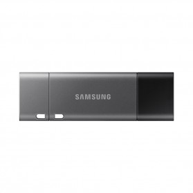 Samsung Duo Plus Flashdisk USB Type C 3.1 64GB - MUF-64DB - Black
