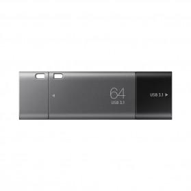 Samsung Duo Plus Flashdisk USB Type C 3.1 64GB - MUF-64DB - Black - 2