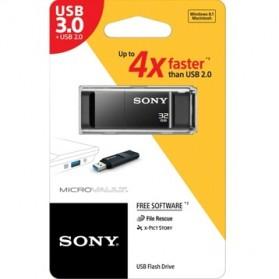 Sony MicroVault Entry USB 3.1 Flash Drive 64GB - USM64X - Black - 5