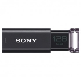 Sony MicroVault CLICK USB Flash Drive 128GB - USM128GU - Black