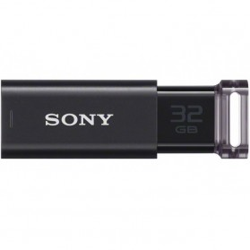 Sony MicroVault CLICK USB Flash Drive 32GB - USM32GU - Black