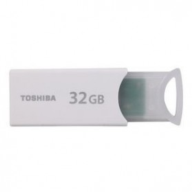 Toshiba TransMemory USB Flash Drive 32GB - UKMM-032G - White