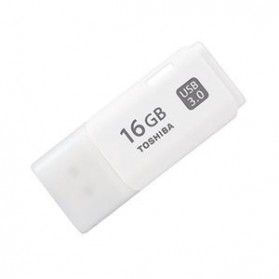 Toshiba USB 3.0 Flash Drive 64GB - THN-U30IW640C4 - White - 2
