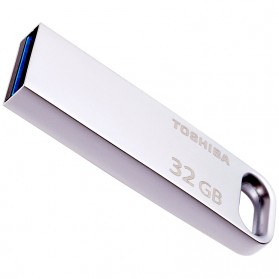Toshiba Metal USB Flashdisk 3.0 32GB 120mb/s - THN-U363S0320C4