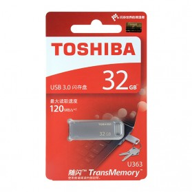 Toshiba Metal USB Flashdisk 3.0 32GB 120mb/s - THN-U363S0320C4 - 4
